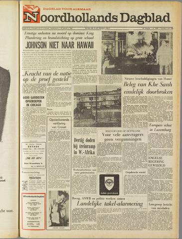 Noordhollands Dagblad : dagblad voor Alkmaar en omgeving 1968-04-06
