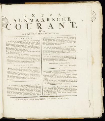 Alkmaarsche Courant 1814-02-22