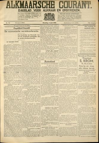 Alkmaarsche Courant 1933-07-04