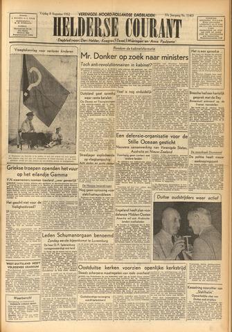 Heldersche Courant 1952-08-08