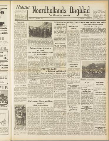 Nieuw Noordhollandsch Dagblad : voor Alkmaar en omgeving 1947-08-14