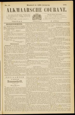 Alkmaarsche Courant 1903-07-17