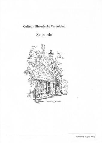 Tijdschrift van cultuurhistorische vereniging Scoronlo 1992-04-01