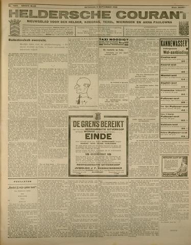 Heldersche Courant 1933-09-09