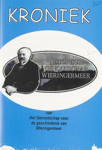 Kroniek Historisch Genootschap Wieringermeer 2001-12-01