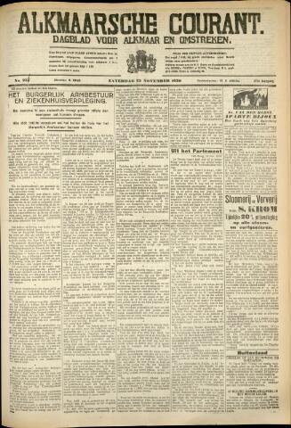 Alkmaarsche Courant 1930-11-22