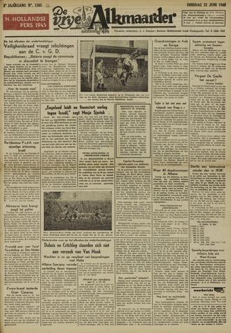 De Vrije Alkmaarder 1948-06-22