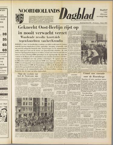 Noordhollands Dagblad : dagblad voor Alkmaar en omgeving 1953-06-18