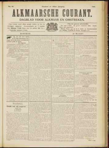 Alkmaarsche Courant 1909-03-23