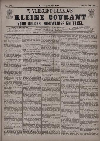 Vliegend blaadje : nieuws- en advertentiebode voor Den Helder 1884-05-28