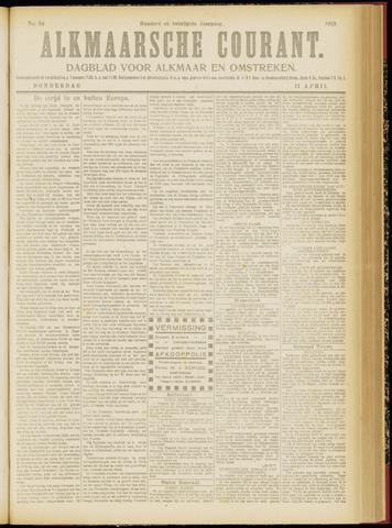 Alkmaarsche Courant 1918-04-11