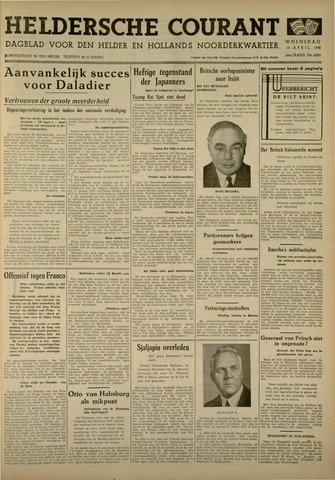 Heldersche Courant 1938-04-13