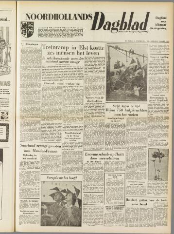 Noordhollands Dagblad : dagblad voor Alkmaar en omgeving 1954-10-14