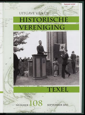 Uitgave Historische Vereniging Texel 2013-09-01