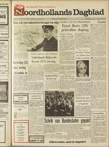 Noordhollands Dagblad : dagblad voor Alkmaar en omgeving 1967-12-22