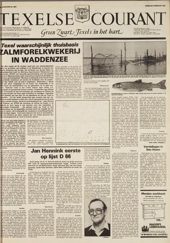 Texelsche Courant 1982-02-09