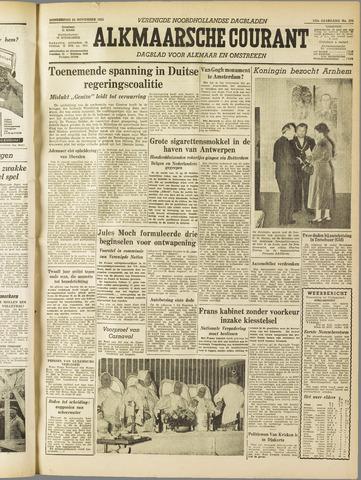 Alkmaarsche Courant 1955-11-24