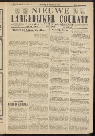 Nieuwe Langedijker Courant 1929-02-05