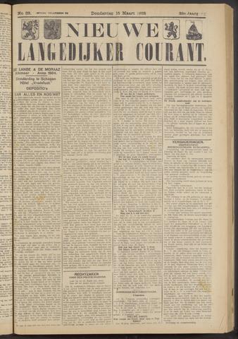 Nieuwe Langedijker Courant 1923-03-15