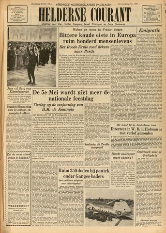 Heldersche Courant 1954-02-04