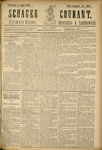 Schager Courant 1895-04-18