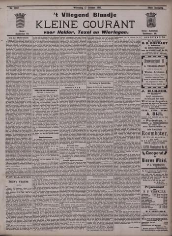 Vliegend blaadje : nieuws- en advertentiebode voor Den Helder 1900-10-17