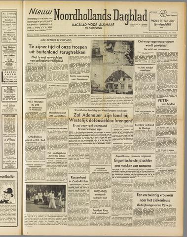 Nieuw Noordhollandsch Dagblad : voor Alkmaar en omgeving 1952-07-08