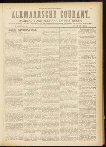 Alkmaarsche Courant 1917-02-28