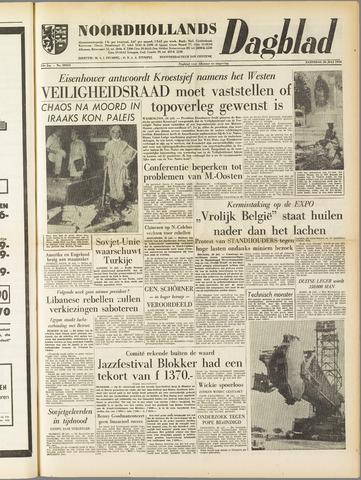 Noordhollands Dagblad : dagblad voor Alkmaar en omgeving 1958-07-26