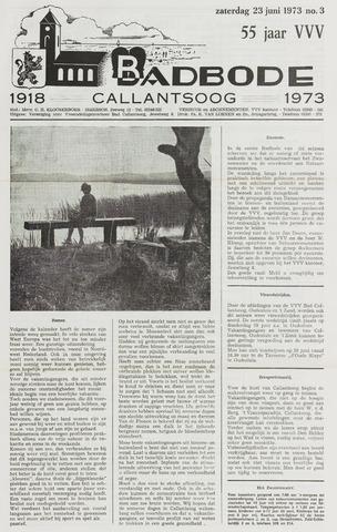 Badbode voor Callantsoog 1973-06-23