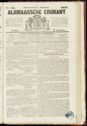 Alkmaarsche Courant 1860-08-19