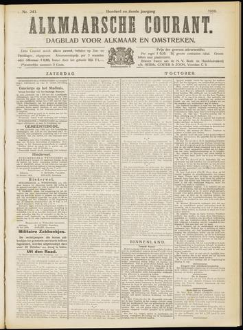 Alkmaarsche Courant 1908-10-17