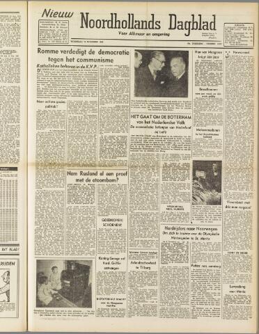 Nieuw Noordhollandsch Dagblad : voor Alkmaar en omgeving 1947-11-12