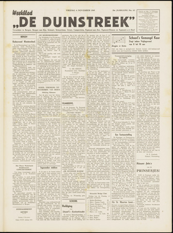De Duinstreek 1949-11-04