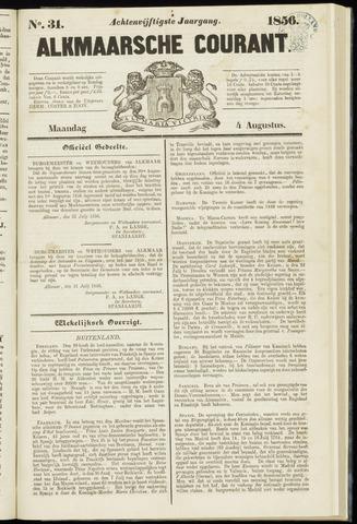 Alkmaarsche Courant 1856-08-04