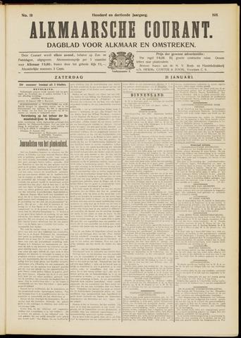 Alkmaarsche Courant 1911-01-21