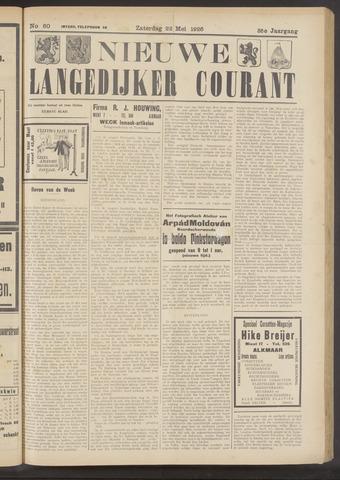 Nieuwe Langedijker Courant 1926-05-22