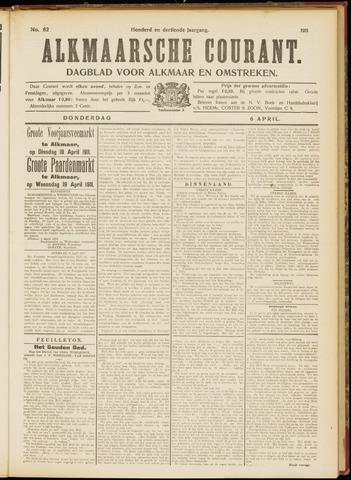 Alkmaarsche Courant 1911-04-06