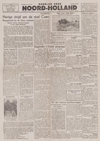 Dagblad Noord-Holland, Schager editie 1944-06-08