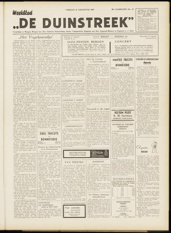 De Duinstreek 1963-08-16