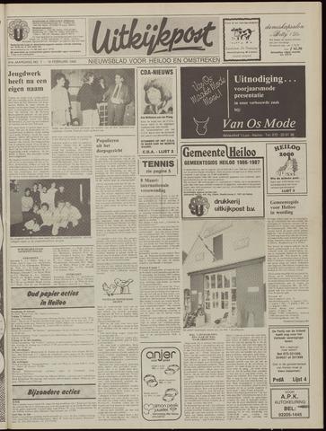 Uitkijkpost : nieuwsblad voor Heiloo e.o. 1986-02-19