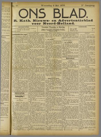 Ons Blad : katholiek nieuwsblad voor N-H 1908-05-06