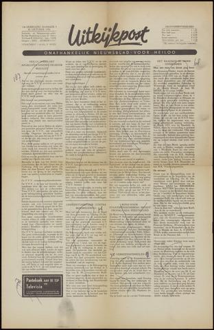 Uitkijkpost : nieuwsblad voor Heiloo e.o. 1956-10-26