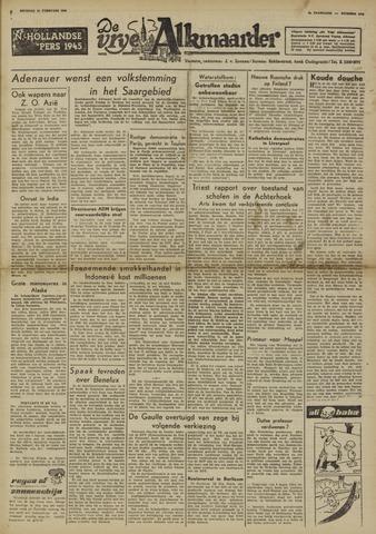 De Vrije Alkmaarder 1950-02-14