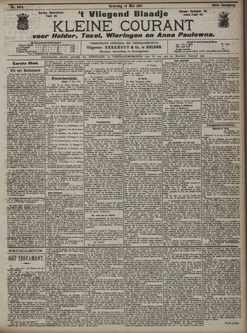 Vliegend blaadje : nieuws- en advertentiebode voor Den Helder 1907-05-18