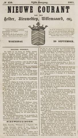 Nieuwe Courant van Den Helder 1865-09-20
