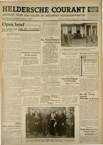 Heldersche Courant 1938-11-24