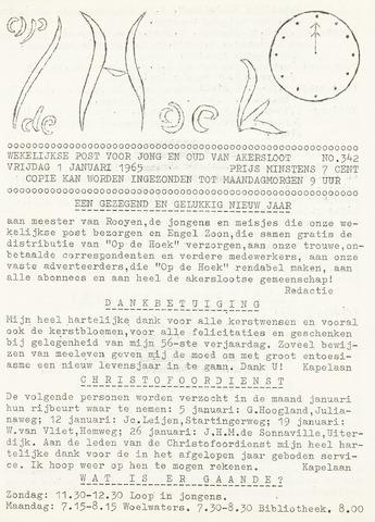 Op De Hoek, weekblad voor Akersloot 1965-01-01