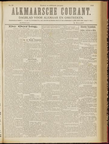 Alkmaarsche Courant 1916-03-14