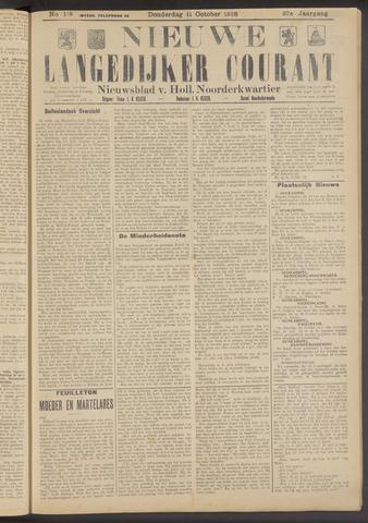 Nieuwe Langedijker Courant 1928-10-11